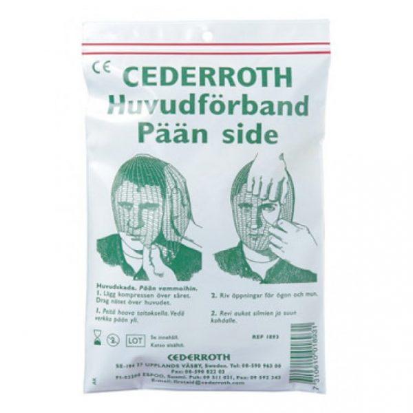 Cederroth päänside setti